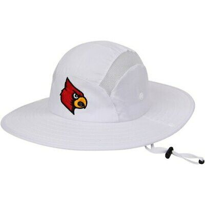 c0a40758 Adidas Louisville Cardinals White Safari Hat • 22.39$