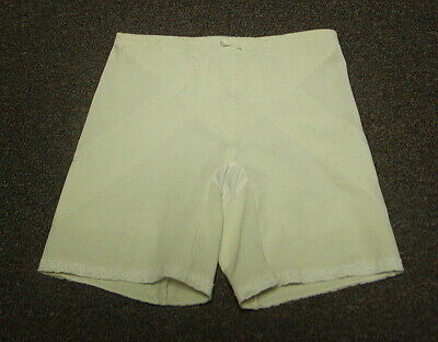 a4981d687b74 Vintage Sears & Roebuck Firm Control Long Leg Girdle With Garters Wh Med  (28 )