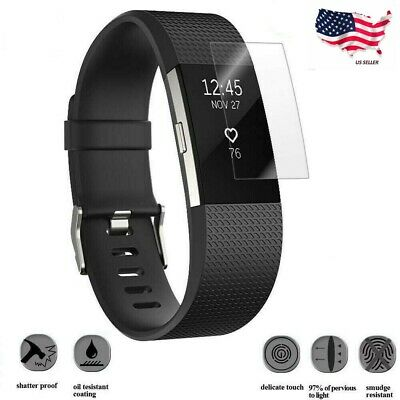 $ CDN3.79 • Buy Ultra Clear Tempered Glass Screen Protector For Fitbit Charge 2 Watch USA