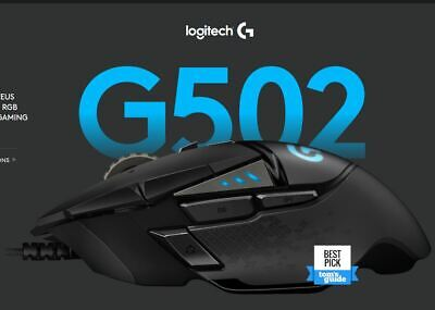 AU95 • Buy Logitech G502 HERO High Performance Tunable Wired Optical Gaming Mouse 16000 Dpi