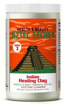 AU27.71 • Buy AZTEC SECRET INDIAN Healing Clay Deep Pore Cleansing Natural Face Care 2 Pound