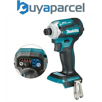 £193.99 • Buy Makita DTD171Z 18v LXT Lithium Brushless Cordless 8 Stage Impact Driver A-MODE