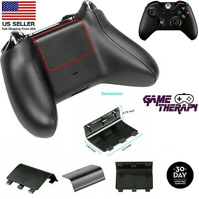 $4.50 • Buy Replacement Battery Shell Back Door Cover For Xbox One Wireless Controller Black
