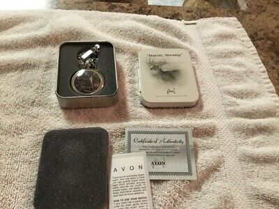 $19.99 • Buy Majestic Morning Pocket Watch Al Agnes Exclusive Edition Deer Hunting Free Ship