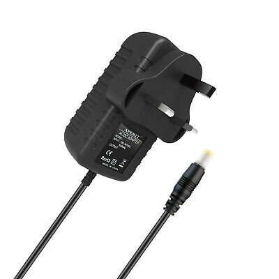 UK AC/DC Adaptor Power Supply Charger For Hannspree Hannspad HSG1279 10.1 Tablet • 4.25£