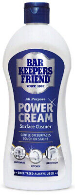 £3.15 • Buy The Original Bar Keepers Friend Power Cream 350ml  Application Sponges Available