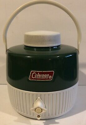 $13.50 • Buy Vintage COLEMAN  Water COOLER JUG 1 Gallon NO CUP Made In 1982