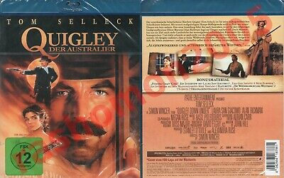 Blu-Ray QUIGLEY DOWN UNDER Tom Selleck Alan Rickman Simon Wincer Region B/2 NEW • 16.99£