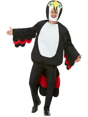 $25.47 • Buy Adult's Tropical Paradise Toucan Bird Costume One Size