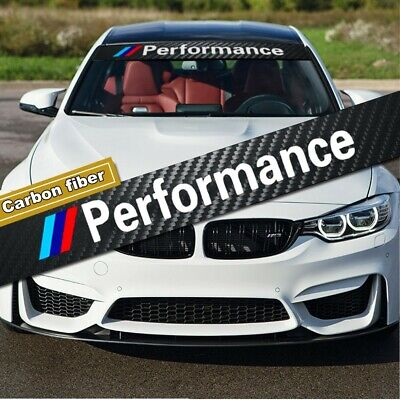 $14.39 • Buy M Performance M Power Tri Color Sticker Bumper Hood Graphics Decal For BMW Cars