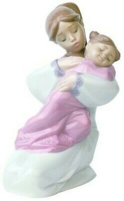 $ CDN80 • Buy Nao By Lladro A Hug Of Love Porcelain Figurine 1467. Spain. Mother With Child Fi