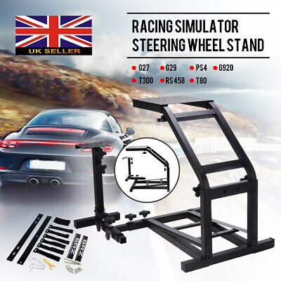 Racing Simulator Steering Wheel Stand GT Model Gaming For G29 G920 T300RS T80 • 41£