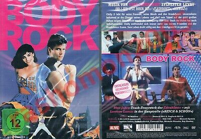DVD R2 BODY ROCK (1984) Lorenzo Lamas Cameron Dye Breakdance Dance Region 2 NEW • 11.99£