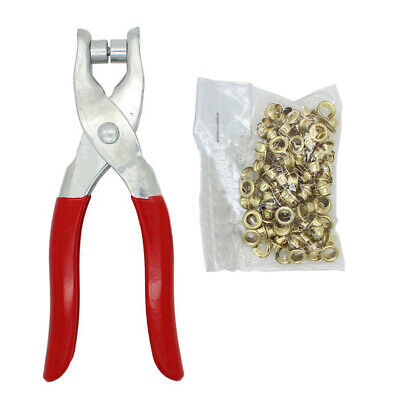 New Grommet Eyelet Setter Pliers Tool Sets For Bags Shoes Leather Punch Belt • 7.89£