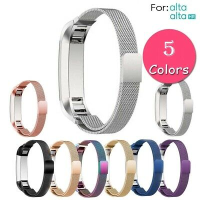 $ CDN11.99 • Buy For Fitbit Alta / Alta HR Magnetic Stainless Steel Watch Replacement Band Strap
