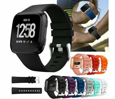 $ CDN7.99 • Buy For Fitbit Versa 2 1 Lite Replacement Silicone Wristband Band Strap Small Large