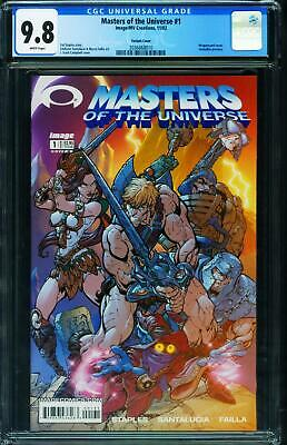 $125 • Buy Masters Of The Universe #1 CGC 9.8 2002 J. SCOTT CAMPBELL Variant 2036868010