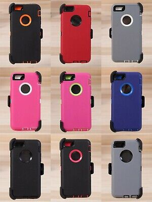 AU14.27 • Buy Shockproof Hard Case Cover For Apple IPhone 7 / 8 / Plus Fits Otterbox Belt Clip