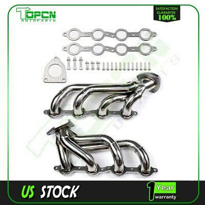 $102.75 • Buy STAINLESS STEEL EXHAUST MANIFOLD HEADER FORGMC Yukon CHEVY Cadillac Escalade OHV
