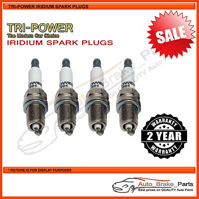 AU42.95 • Buy Iridium Spark Plugs For VOLKSWAGEN Golf Generation IV 1J GLE 2.0L - TPX004
