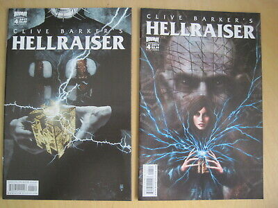 CLIVE BARKER'S HELLRAISER  Issue  4 :set Of 2 Covers PINHEAD +.2011 BOOM SERIES  • 4.99£