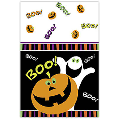 $3.90 • Buy Plastic Table-cover Pumpkin Ghost Boo Halloween Party Tableware Decoration