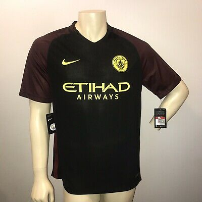 d9f9835c Nike Dri Fit Etihad Airways Manchester City 2016 Away Jersey Size Large •  49.99$