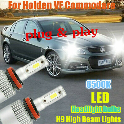 AU39.99 • Buy LED Light Bulbs To Suit Holden/HSV VF Commodore High Beam (H9 6500K 'HID White')