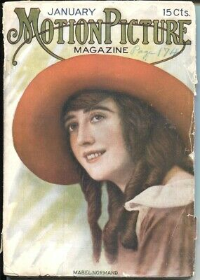 $392 • Buy Motion Picture Magazine 1/1916-Mabel Normand-Uncle Toms Cabin-Norma Talmadge-VG-