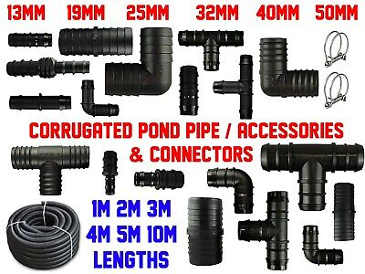 SMOOTH BORE DUST EXTRACTION/ SUCTION HOSE | 19-50mm | 1-10m Optional CONNECTORS! • 8.57£