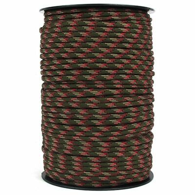 $31.18 • Buy 550 Paracord Rope 100 M Roll Parachute Cord Camping Rope Survival Cord Military