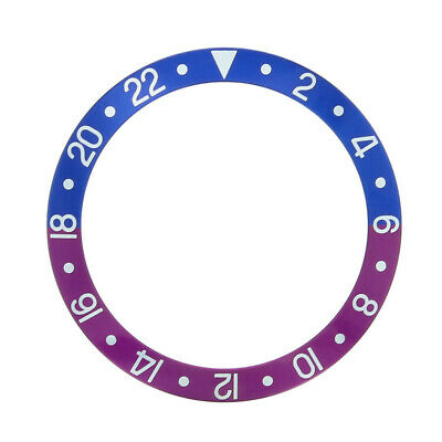 $ CDN96.74 • Buy Bezel Insert For Vintage Rolex Gmt I 1675 16750 Fuchsia Blue And Red/pinkish