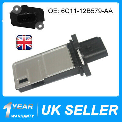 Mass Air Flow Meter Maf Sensor For Ford Galaxy Mondeo Mk4  1.8, 2.0, 2.2 TDCi UK • 13.89£