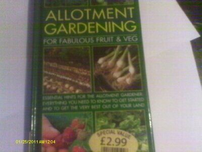 Allotment Gardening (For Fabulous Fruit & Veg), Kevin Forbes, Used; Good Book • 3.28£