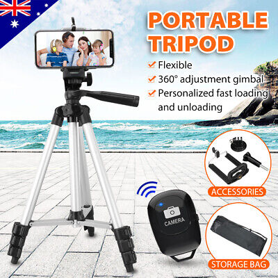 AU21.35 • Buy Adjustable Camera Tripod Mount Stand Holder For IPhone 11 Pro SE MAX Samsung S20