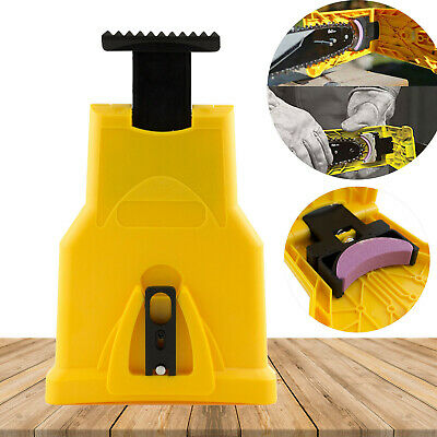 Electric Chainsaw Teeth Sharpener Chain Blade Grinder Sharpening Stones Kit UK • 6.99£