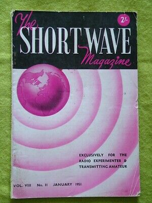 The Short Wave Magazine / Jan 1951 / Linear Transformers For Aerial Matching  • 7.49£