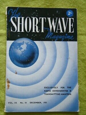 The Short Wave Magazine / Dec 1951 / Beating The Qrm • 7.49£