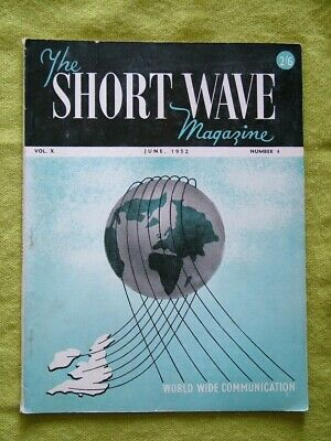 The Short Wave Magazine / June 1952 / Aerial Coupling And Loading, Part I • 7.49£