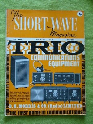 The Short Wave Magazine / 1969 March / Variations On The Vertical • 7.49£