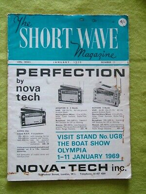 The Short Wave Magazine / Jan 1969 / Transceiver For The Lf Bands • 7.49£