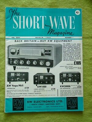 The Short Wave Magazine / March 1968 / Vertical Radiating System  • 7.49£