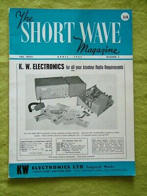 £7.49 • Buy The Short Wave Magazine / April 1965 / Printed Circuits For Amature Equipment