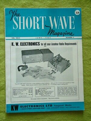 £7.49 • Buy The Short Wave Magazine / June 1965 / Noise-limiter For The Cr-100