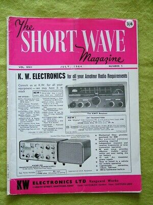 The Short Wave Magazine / July 1964 / High-power Linear Amplifier • 7.49£