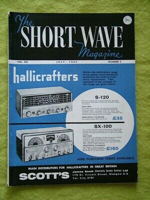 The Short Wave Magazine / July 1962 / Aerial Tuning For Top Band • 7.49£