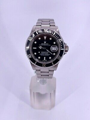 $ CDN11520 • Buy Rolex Submariner Date 16610 Stainless Steel (Excellent Condition)