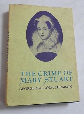 $9.99 • Buy MARY QUEEN Of SCOTS STUART Book Vintage  ROYALTY Bio HBDJ Scotland