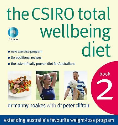 AU36.39 • Buy The CSIRO Total Wellbeing Diet Book 2 ' Clifton, Peter