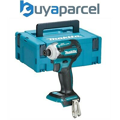 Makita DTD171Z 18v LXT Lithium Brushless Cordless 8 Stage Impact Driver + Makpac • 199.99£